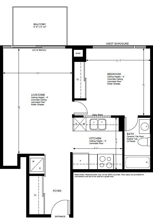 Floor Plans For Mozo Mozo At 333 Adelaide Street East